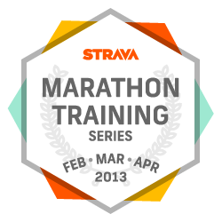 Strava Marathon Training Series