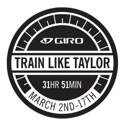 Giro's Train Like Taylor Challenge logo