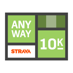 Any Way 10k logo