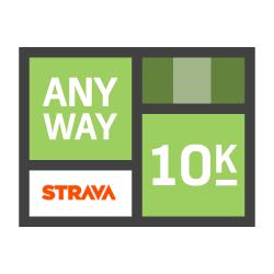 Any Way 10k logo