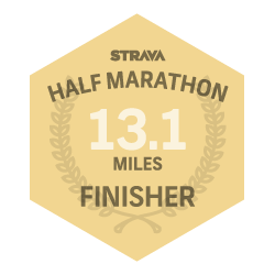 August 2013 Half Marathon