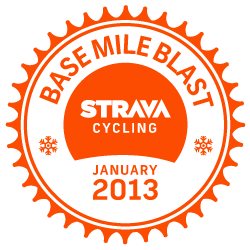 Strava Cycling Base Mile Blast logo