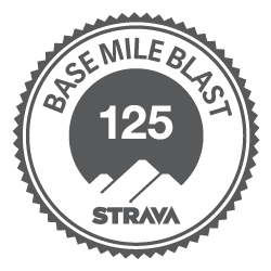 Strava Run Base Mile Blast