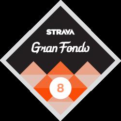 Gran Fondo 8 logo
