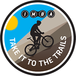 IMBA's Take It to the Trails logo