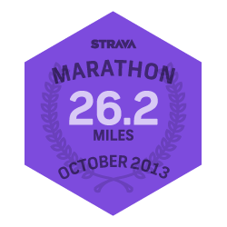 October 2013 Marathon logo