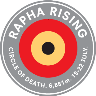 Rapha Rising Challenge logo