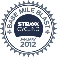 Strava Ride Base Mile Blast logo