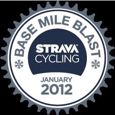 Strava Ride Base Mile Blast logo
