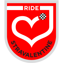 Stravalentine's Day Challenge logo