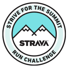 Strive for the Summit Run Challenge logo