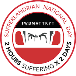 Sufferlandrian National Day logo