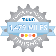Nuun Twice the Tour Challenge