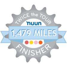 Nuun Twice the Tour Challenge