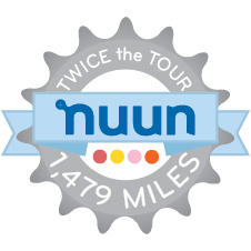 Nuun Twice the Tour Challenge logo