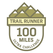 Trail Runner 100 Mile Challenge