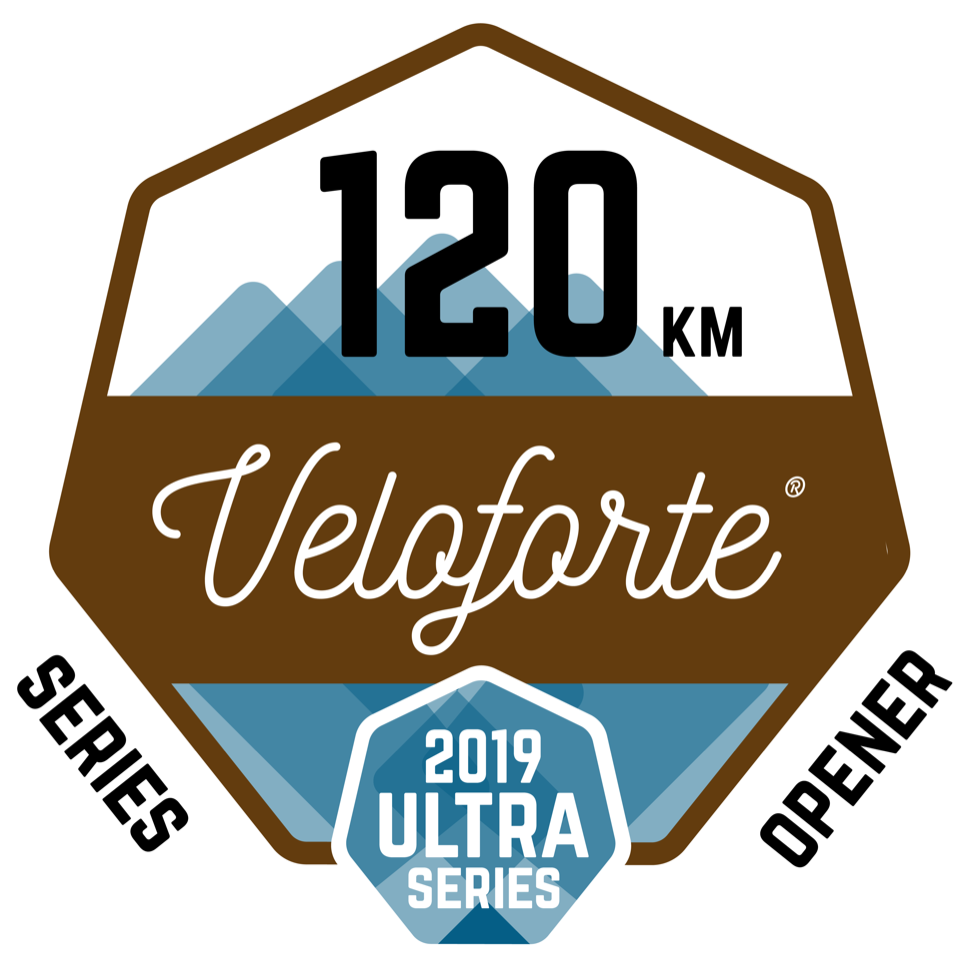 Veloforte 120km Spring Shakeout logo