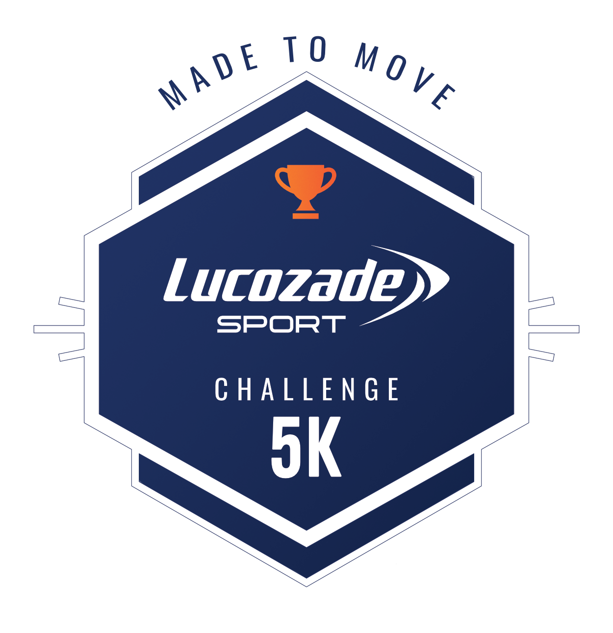 The Lucozade Sport #MadeToMove Challenge logo
