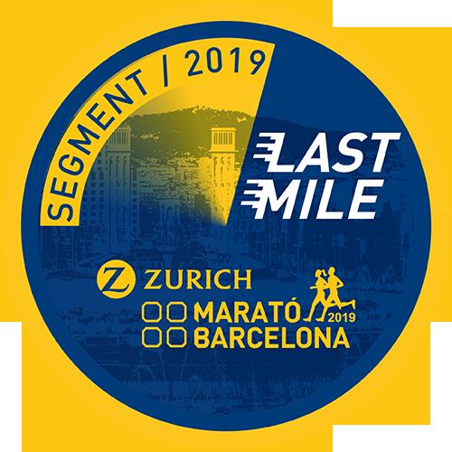 Zurich Marató Barcelona Last Mile logo