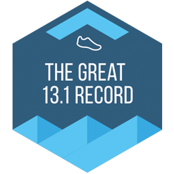 The Great 13.1 Record logo