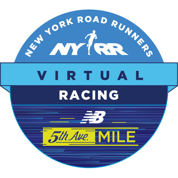 NYRR Virtual New Balance 5th Avenue Mile logo