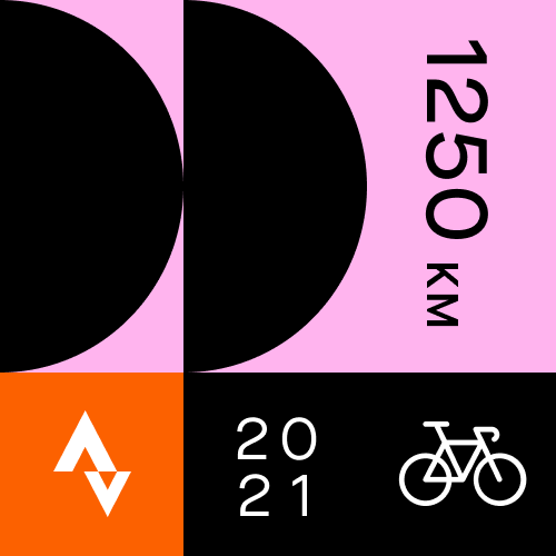 February Cycling Distance Challenge logo