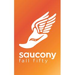 Saucony Fall Fifty logo