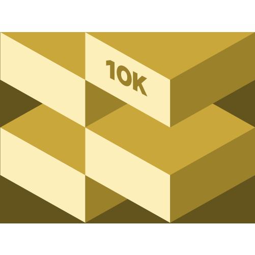 August 10K logo