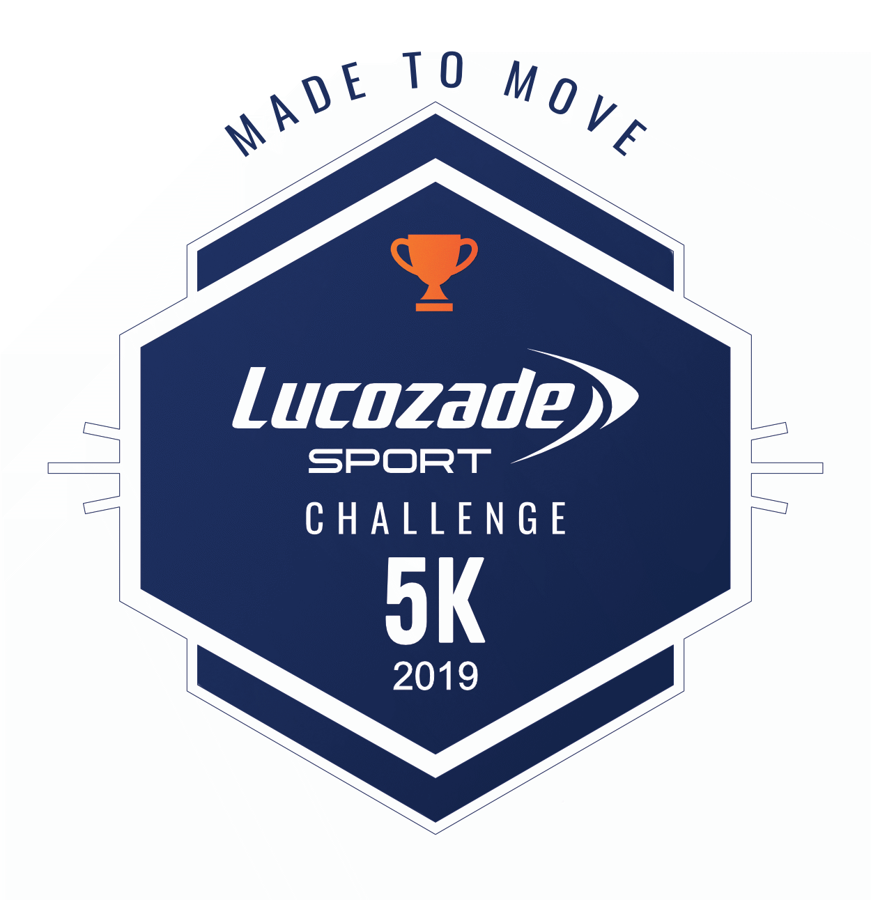 Lucozade Sport #MadetoMove Challenge logo