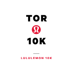 lululemon Toronto 10K logo