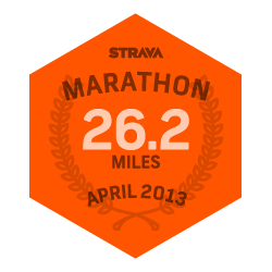 April 2013 Marathon logo