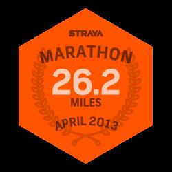 April 2013 Marathon logo