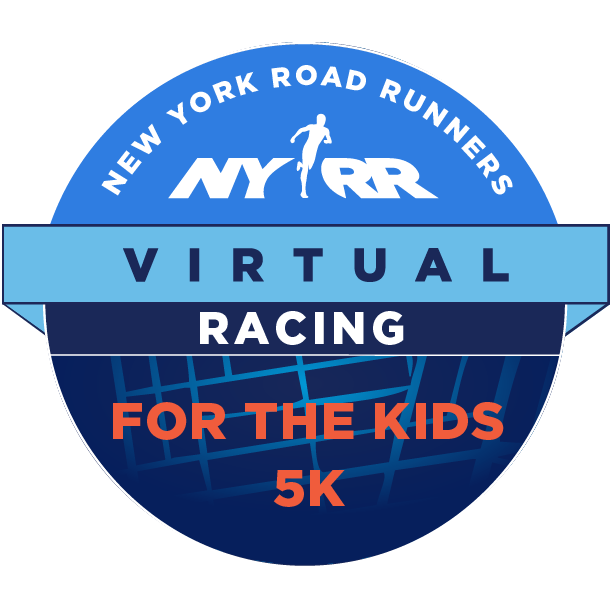 NYRR Virtual For the Kids 5K logo