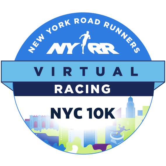 NYRR Virtual NYC 10K logo
