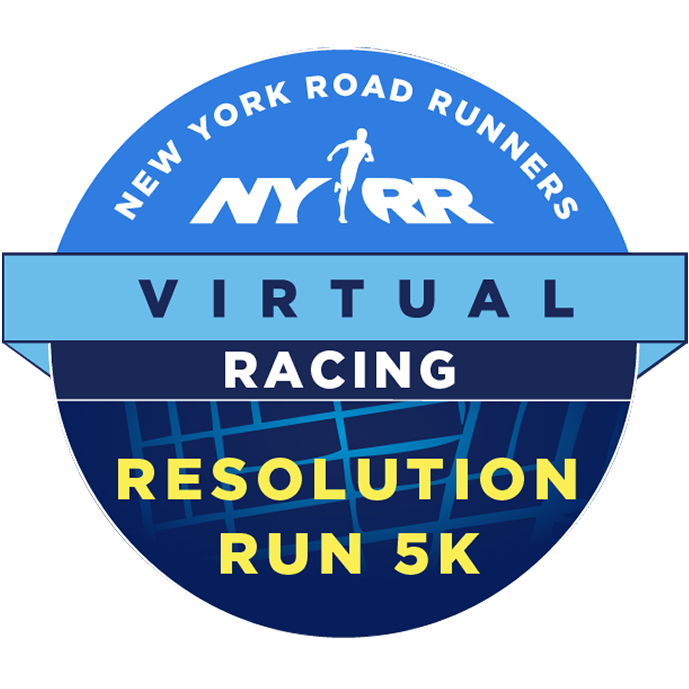 NYRR Virtual Resolution Run 5K logo