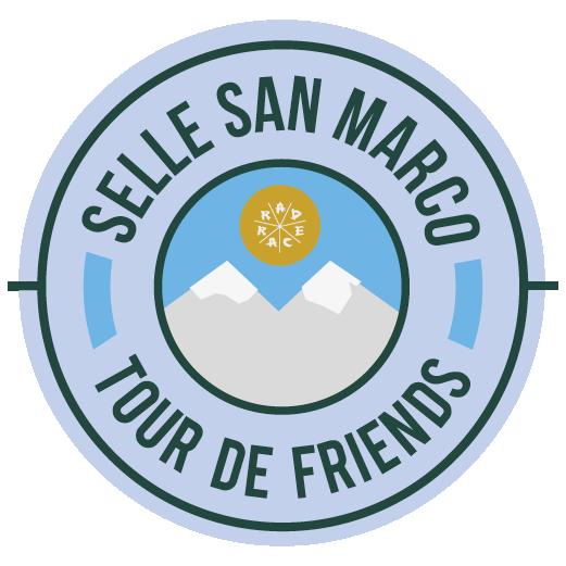 Selle San Marco x RAD RACE Tour de Friends 2018 logo