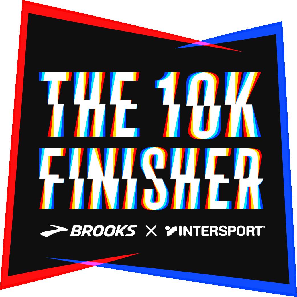 The Brooks & Intersport 10k Finisher