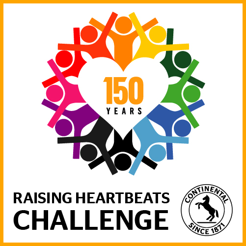 Continental Raising Heartbeats Challenge