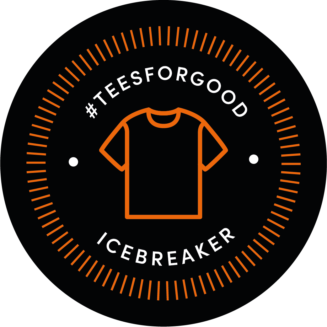 icebreaker #teesforgood challenge