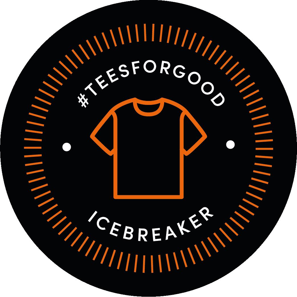 icebreaker #teesforgood challenge logo