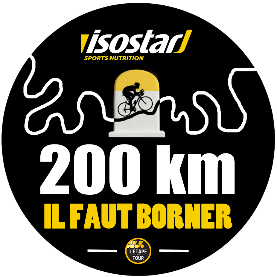 Isostar 200km - en mai il faut borner logo