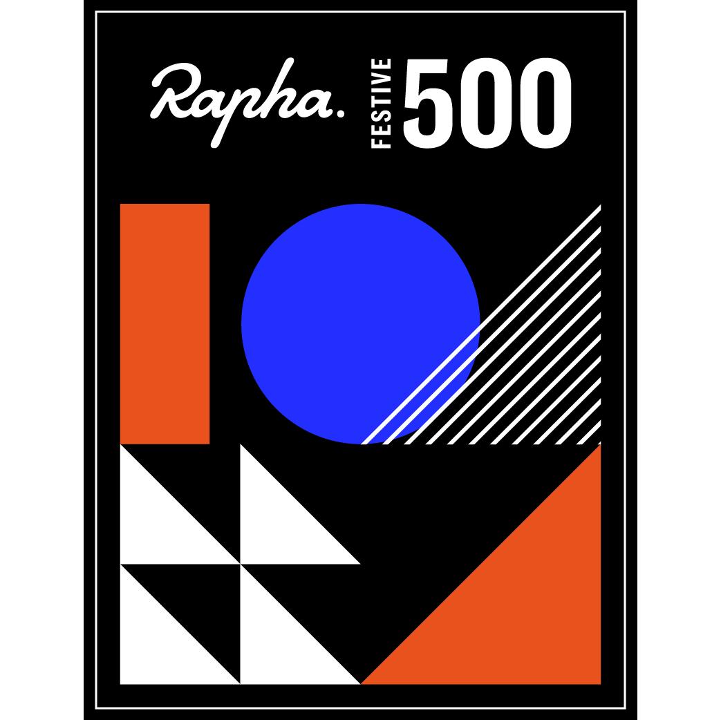 Rapha #Festive500 logo