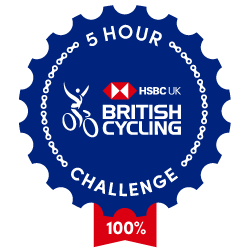 The British Cycling Ride Five Challenge