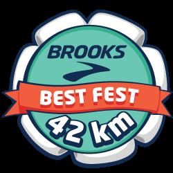 Brooks Best Fest Marathon - Europe