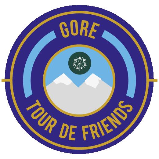 Gore Wear x RAD RACE Tour de Friends 2018 logo