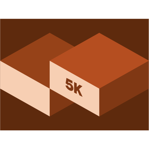July 5K Virtual Race logo