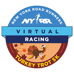 NYRR Virtual Turkey Trot 5K logo