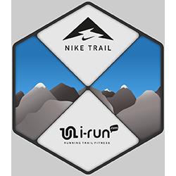i-run x Nike Trail 2019 logo