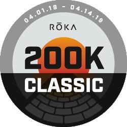 The ROKA 200K Classic logo