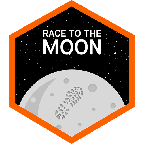 Race to the Moon logo